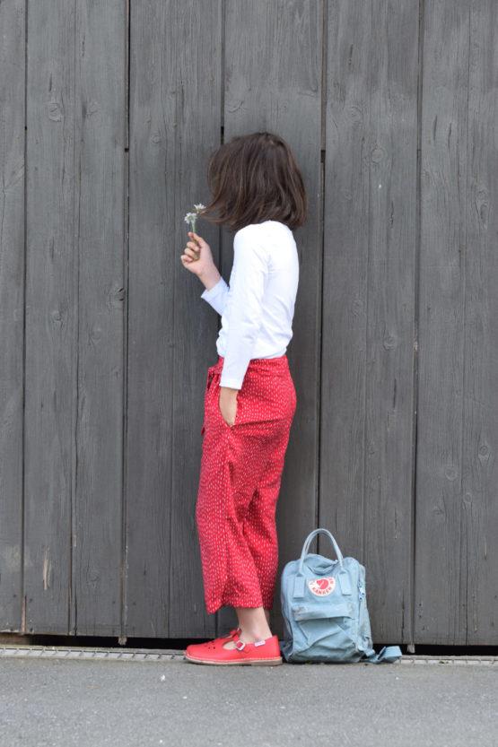 Viskose SELMA rot aus Sew & More Kollektion, Designbeispiel von Zwirnguin - Dagmar Zundel