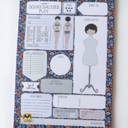 Sew & More Block Schnittmuster-Plan